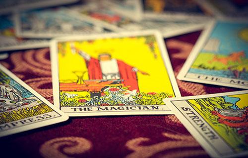 マジシャンのカード